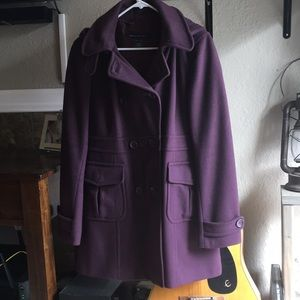 Plum French Connection Peacoat